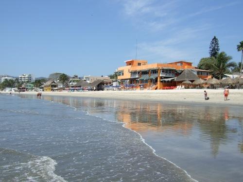 Bucerias, from the beach