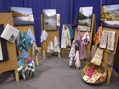 towels inspired by colors of nature