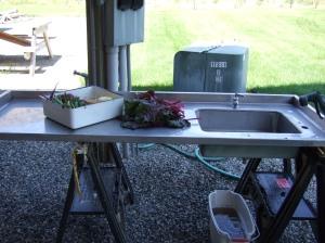 outdoor sink