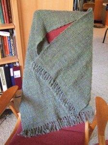 overdyed shawl