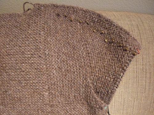 Finished sleeve cap