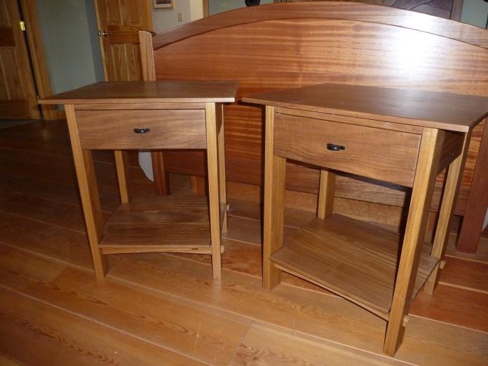 DIY Wooden Bedside Table Plans dowel wine rack plans Plans