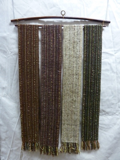 mixed warp #6 brown & green 1