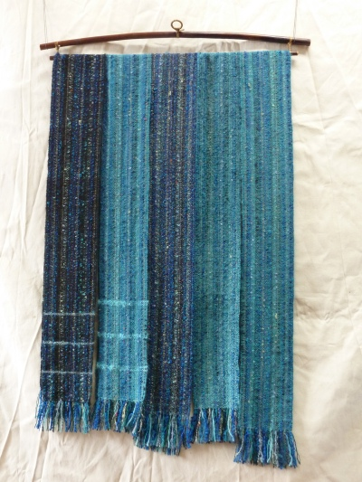 mixed warp #7 bluegreen 1