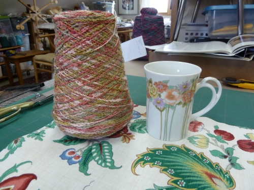 the mug, the fabric & the yarn