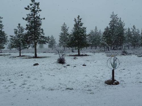 April 7, 2013 spring snow!