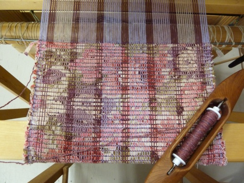 "a ""California Rags"" placemats underway"