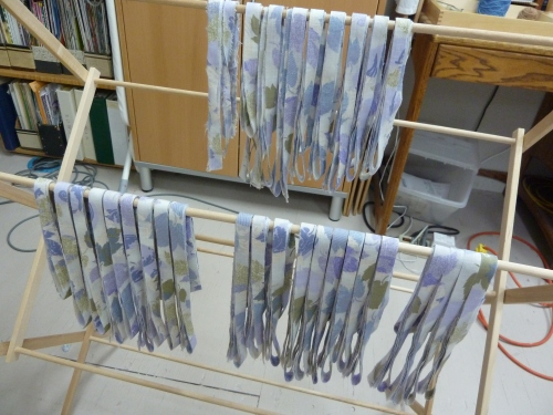 fabric 3 cut into strips