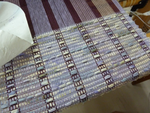 fabric 3 being woven