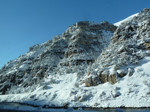 Wind River Canyon south of Thermopolis
