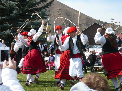 The Oinkari Basque Dancers