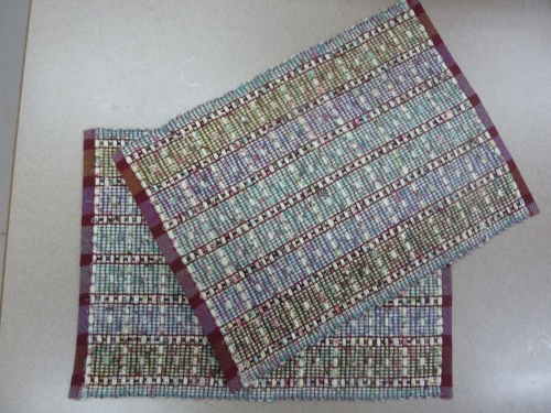 """bird fabric"" placemats"