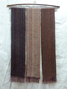 finished Bright Autumn scarves #2