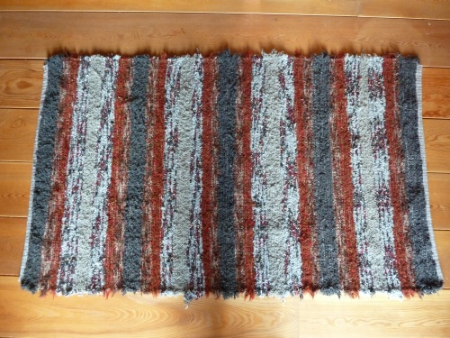 """R178 - 36"""" x 60"""" - Pendleton selvages"""