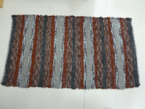 """R179 - 36"""" x 65"""" - Pendleton selvages"""
