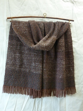 6 Sable warp lambswool alpaca