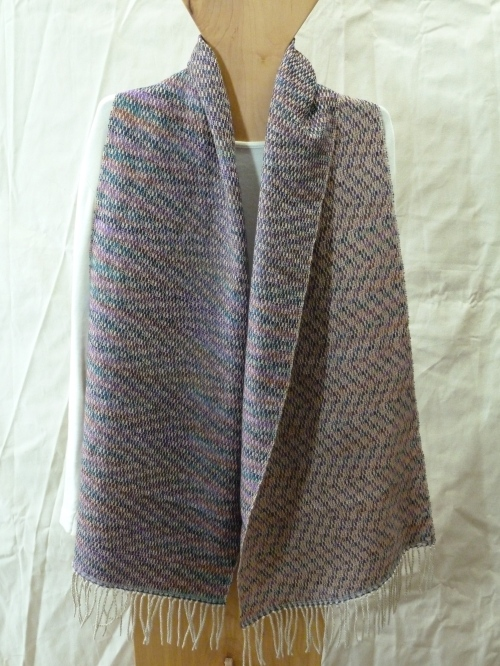 KS spring meadow shawl