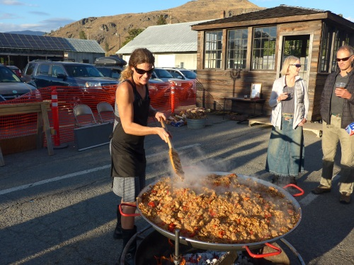 Cameron Green, chef & catrerer extraordinaire