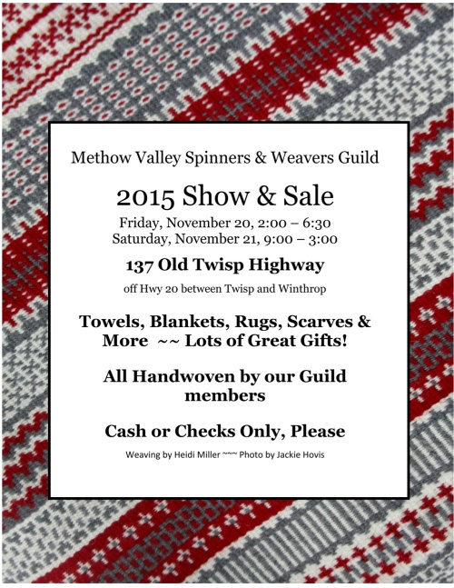 2015 annual sale poster