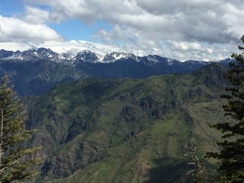 Seven Devils Peaks in Idaho